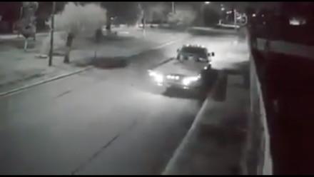 Video de seguridad que capta feminicidio de Leticia