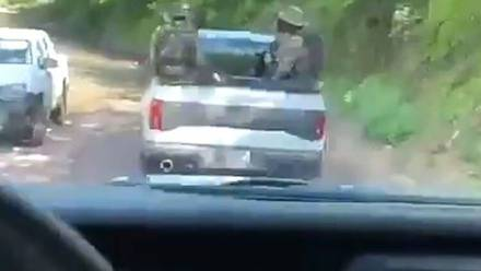 Sicarios patrullan Sinaloa