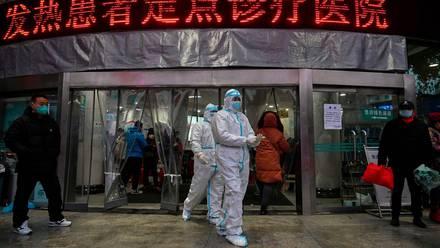 China con pandemia de Covid-19.