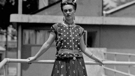7 frases célebres de Frida Kahlo.