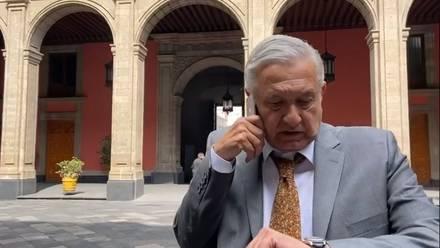 AMLO en Palacio Nacional