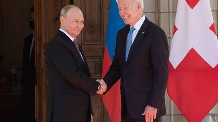 Reunión Putin y Biden