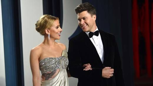 Scarlett Johansson y Colin Jost dan la bienvenida a su primer hijo